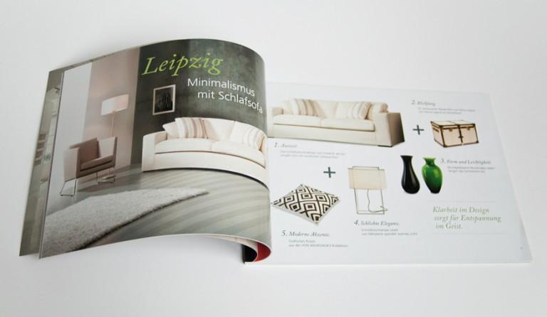 carolacless.de Katalog & Imagebroschüre für »von Wilmowsky«