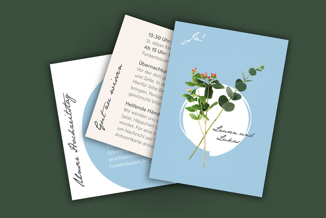 carolacless.de Hochzeitseinladung